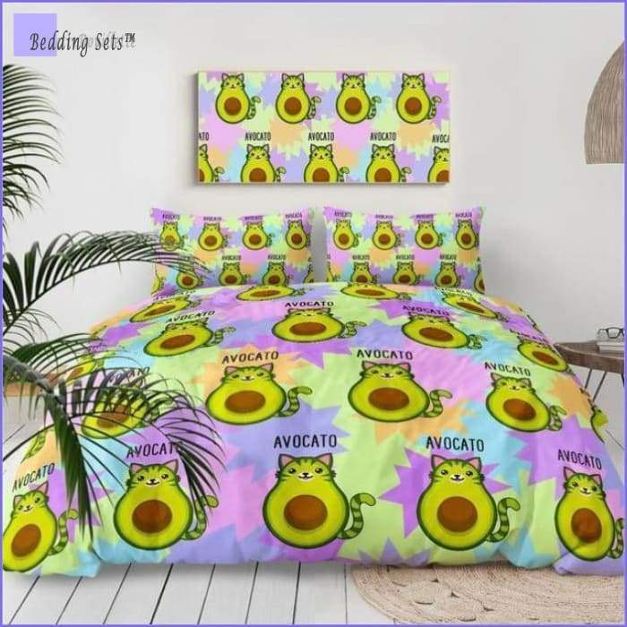 Cat Bedding - Avocado