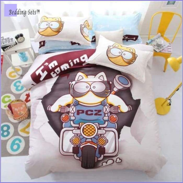 Cat Bedding - Motorcycle