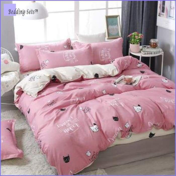 Cat head Bedding - Meown or Never