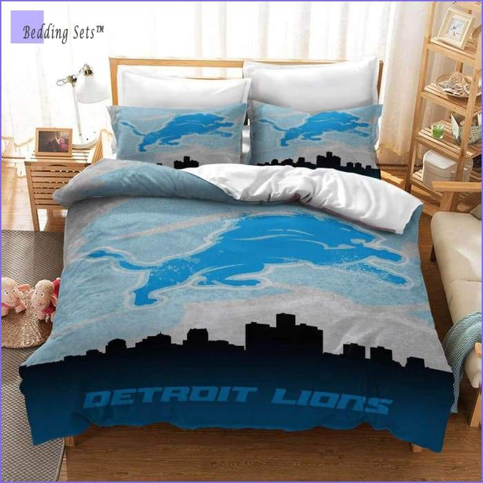 Detroit Lions Bedding Set