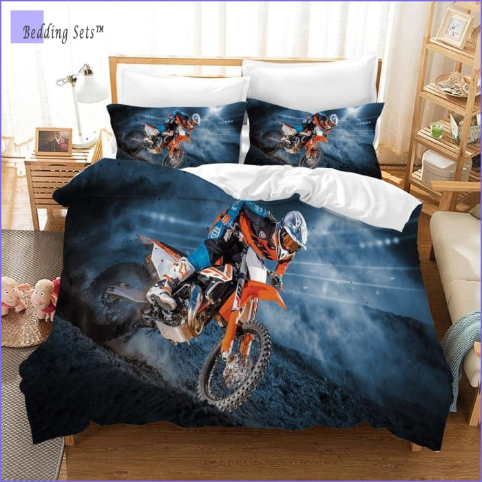 Dirt Bike Bedding - Arena