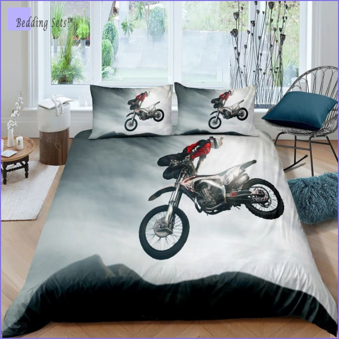 Dirt Bike Bedding - Big Air