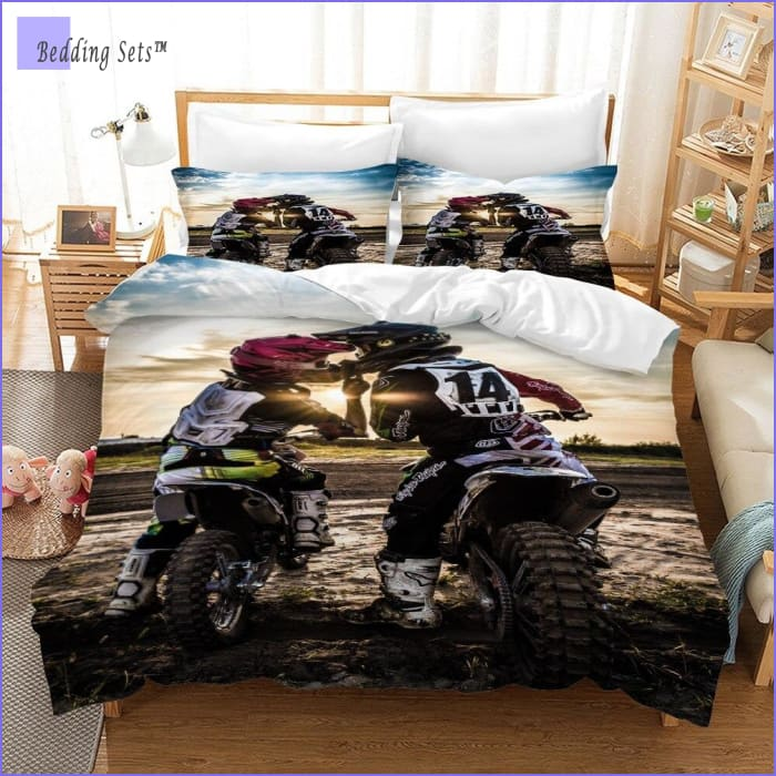 Dirt Bike Bedding - Couple Goal