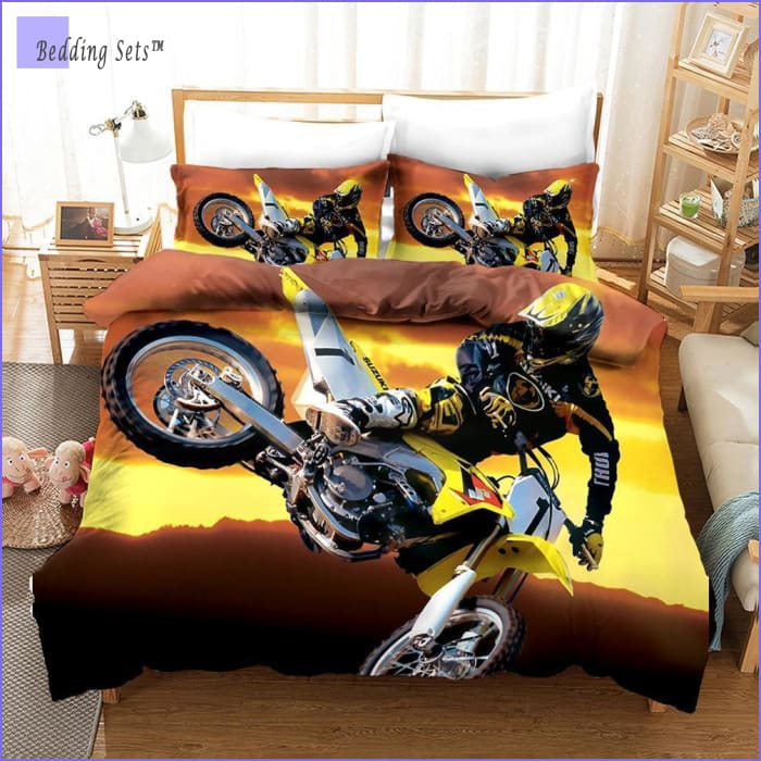 Dirt Bike Bedding - Desert Ride