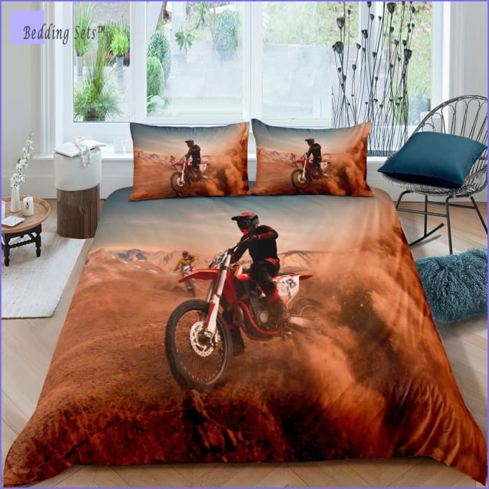 Dirt Bike Bedding - Desertic Ride
