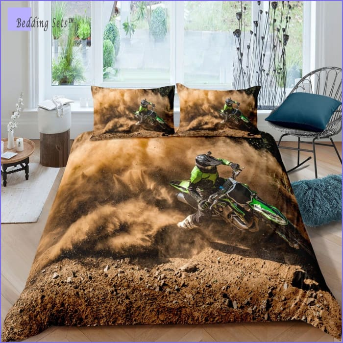 Dirt Bike Bedding - Drift