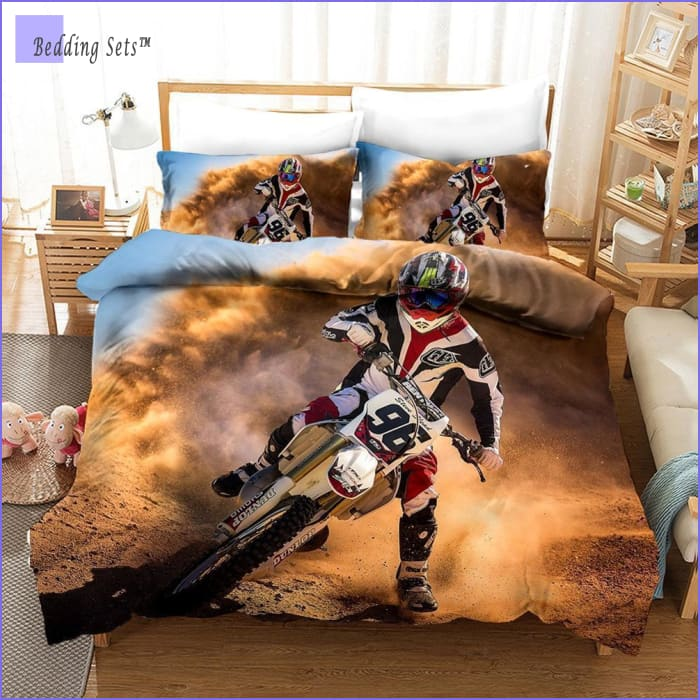 Dirt Bike Bedding - High Speed