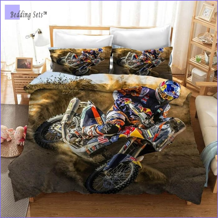 Dirt Bike Bedding - Race Day