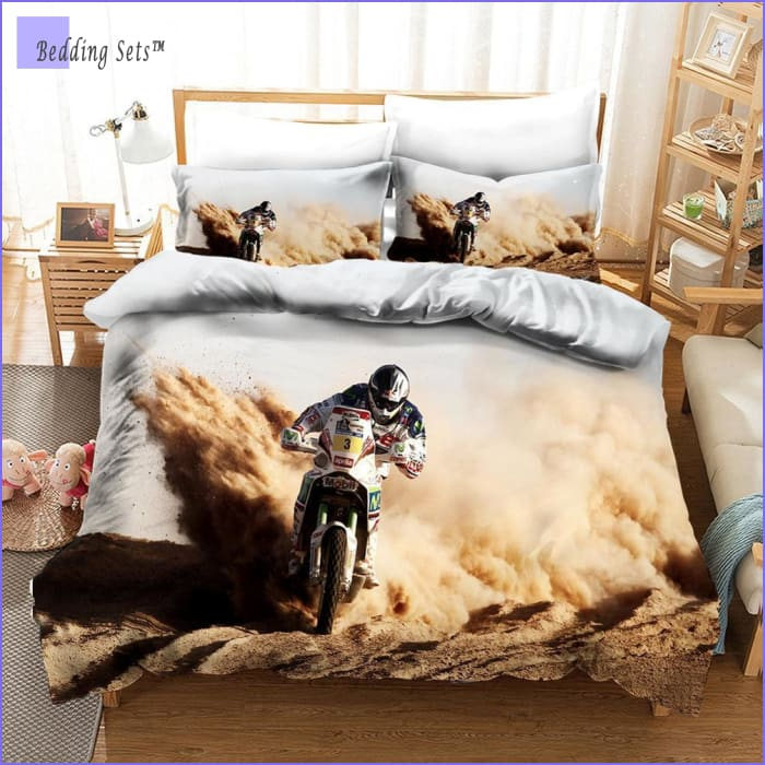 Dirt Bike Bedding - Rally Raid