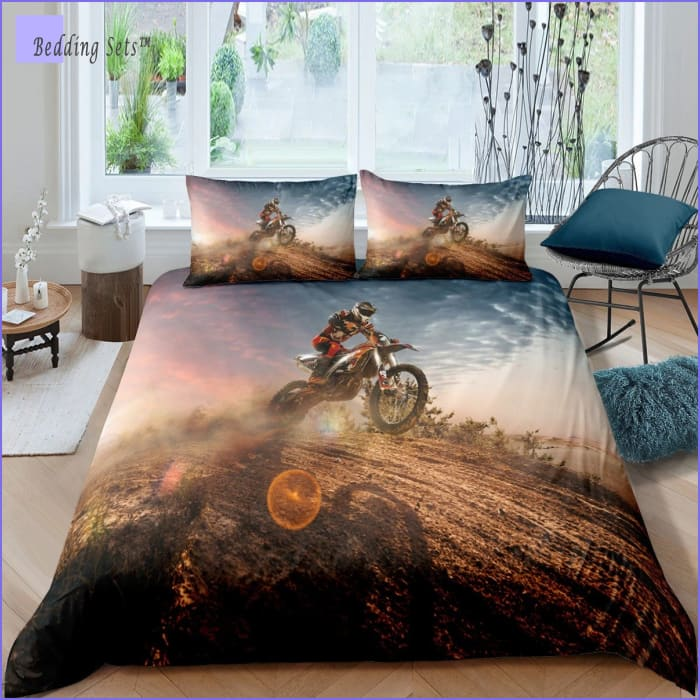 Dirt Bike Bedding Set - Contest