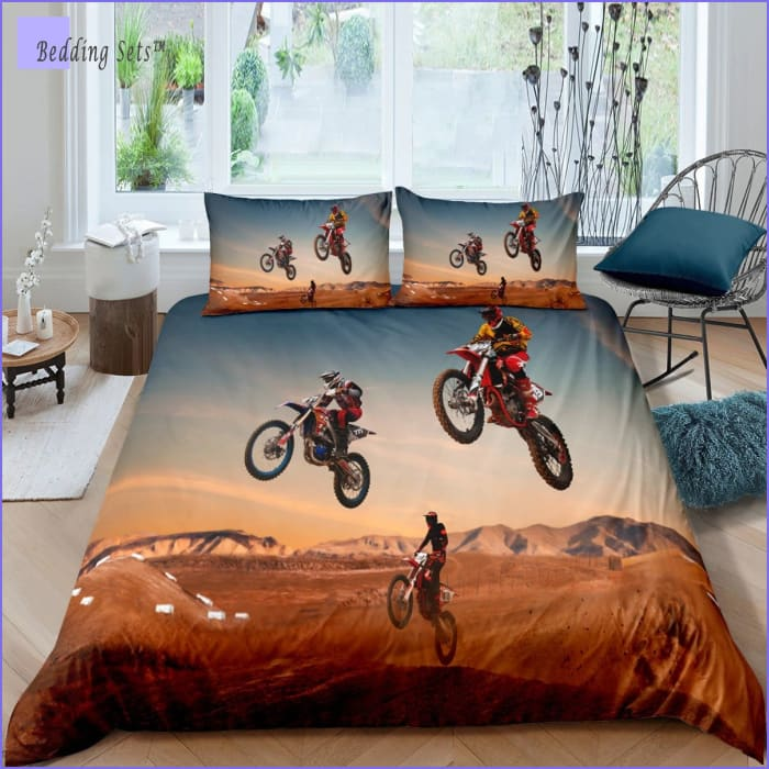 Dirt Bike Bedding Twin