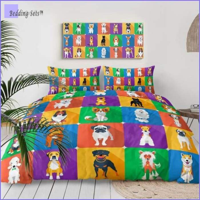 Dog Bedding Set - Multicolor gang