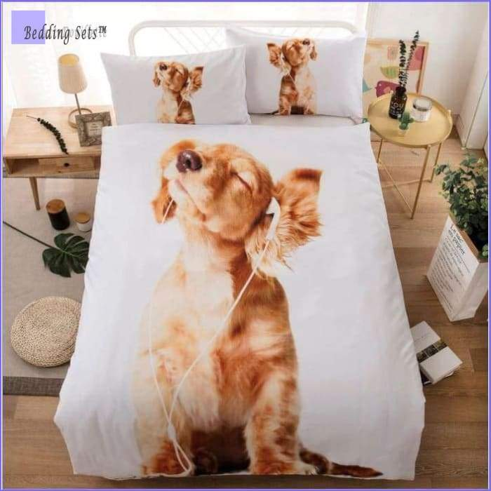 Dog Bedding Set - Music Lover
