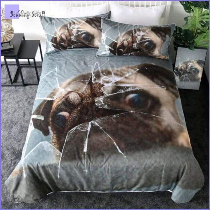 Dog Bedding Set - Smashing Pug