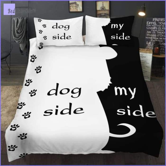 Dog Side Bedding Set