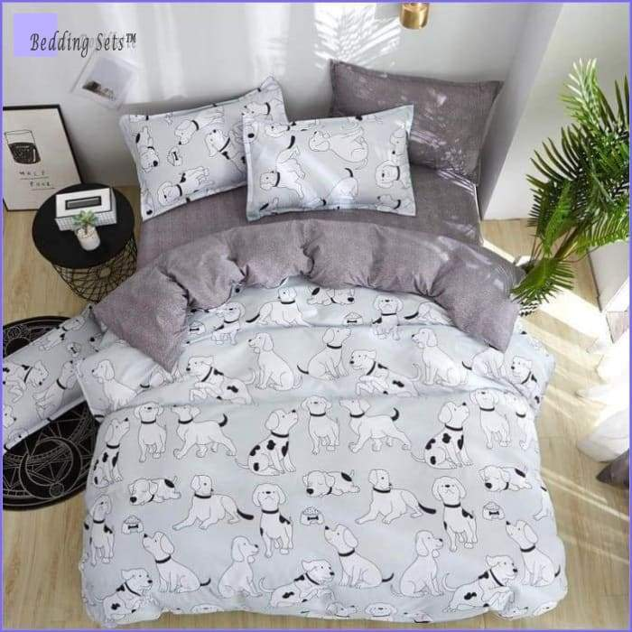 Dog Toddler Bedding Set