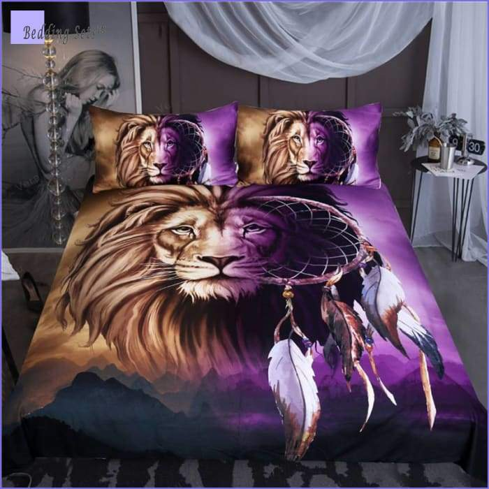 Dream Catcher Bedding - Lion's peace