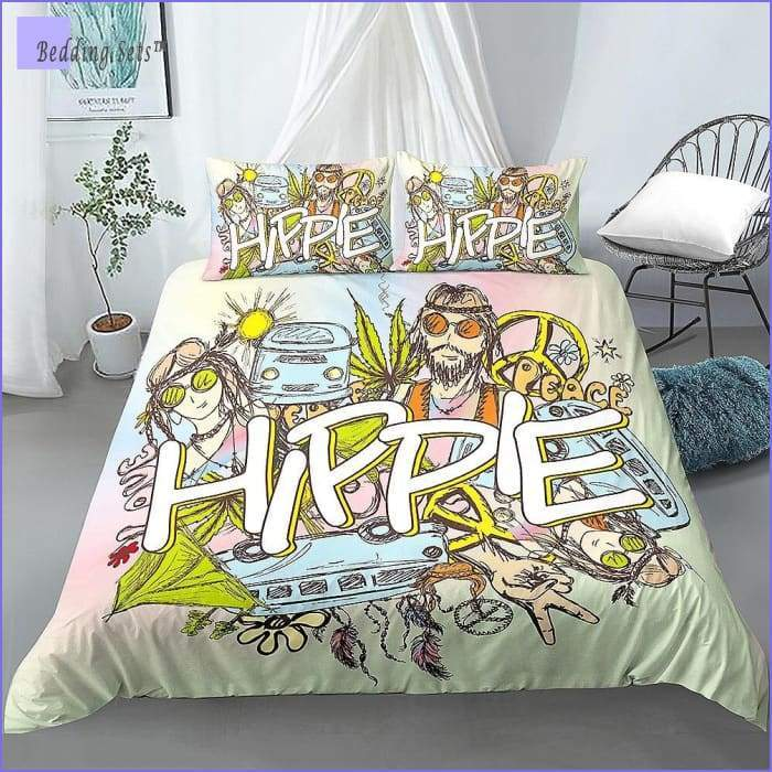Hippie Bedding - Art of Peace