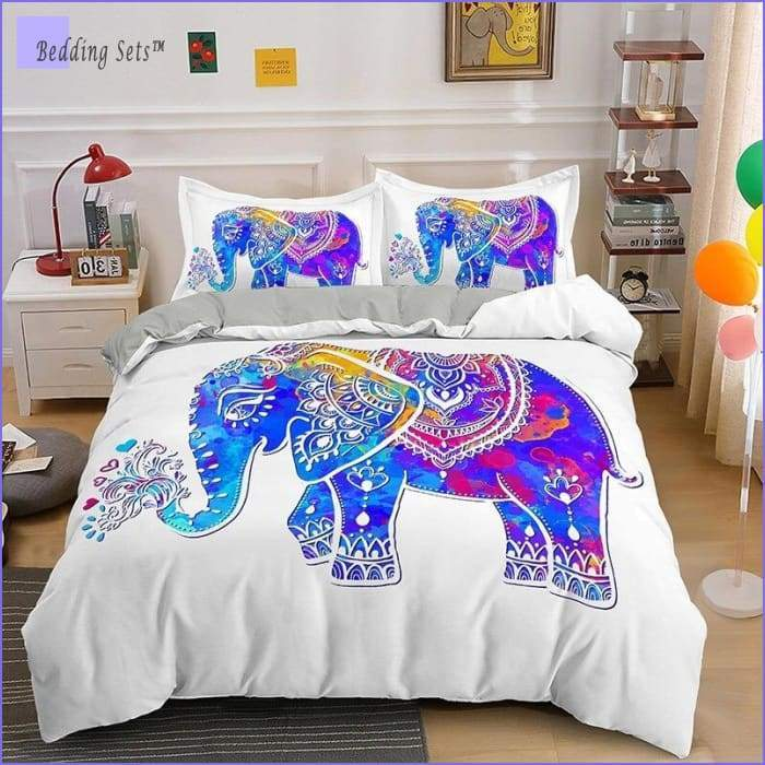 Hippie Bedding - Elephant of Love