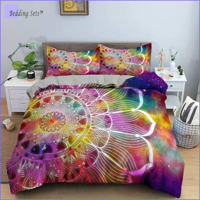 Hippie Bedding - Glactic Flower