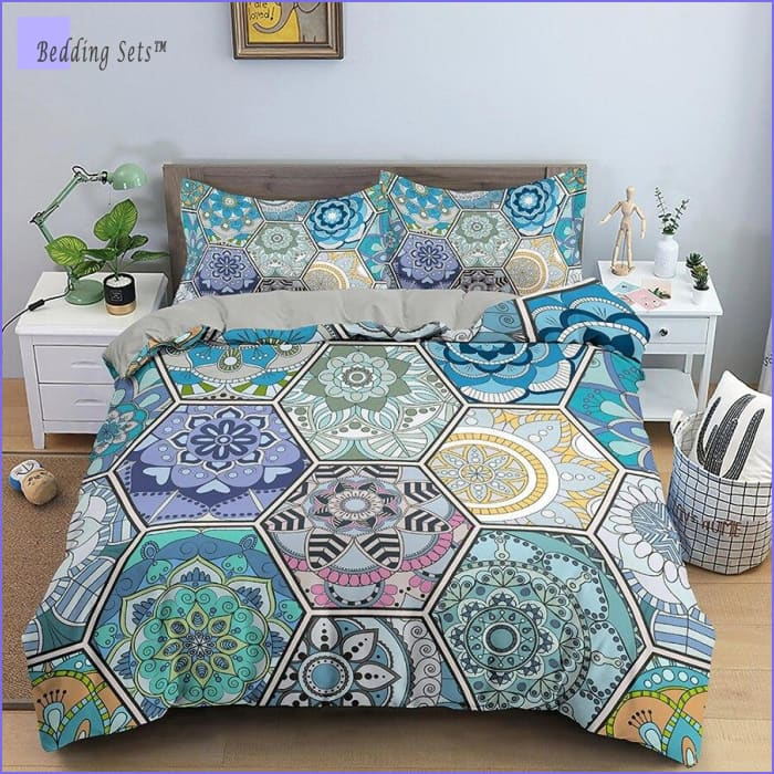 Hippie Bedding - Mandala Patchwork