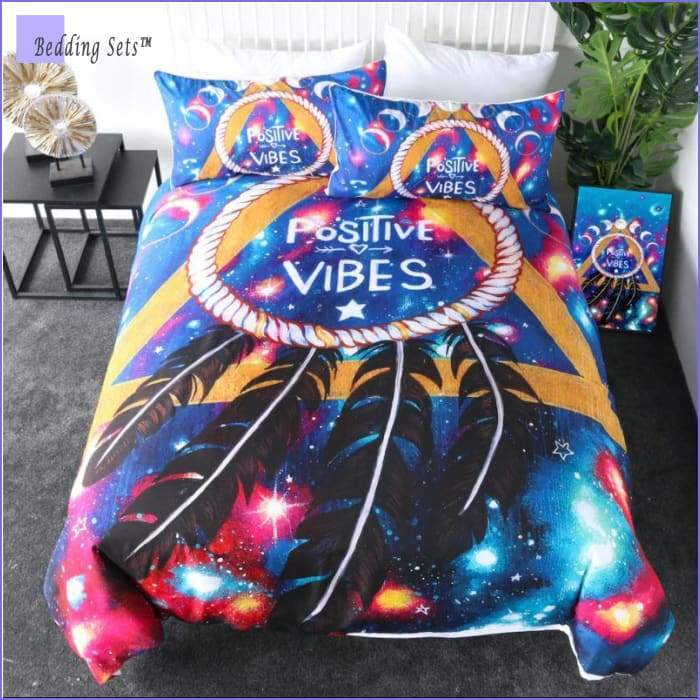 Hippie Bedding - Positive Vibes