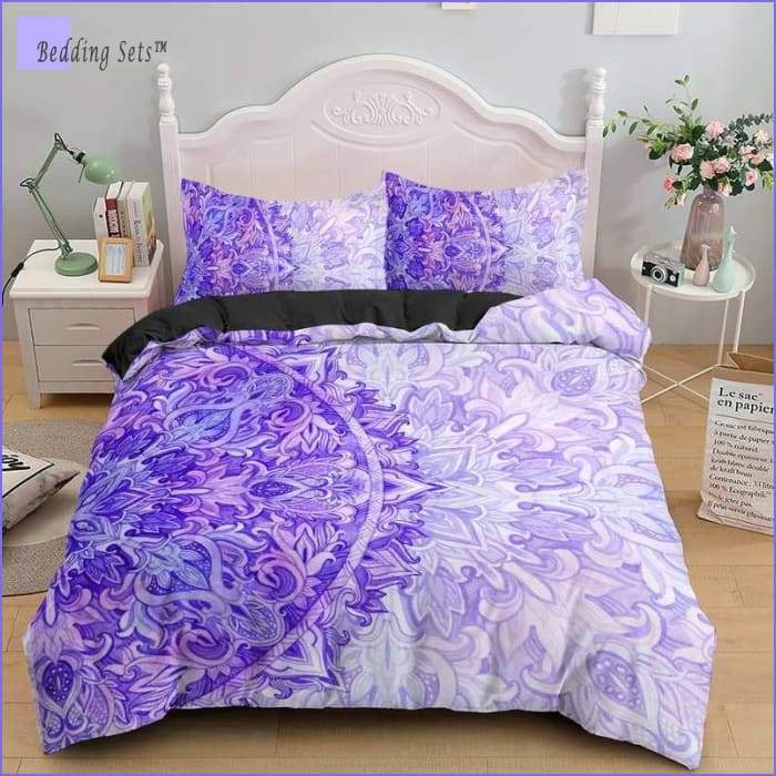 Hippie Bedding - Purple Moon
