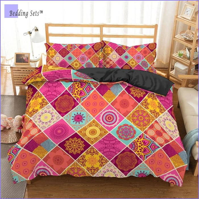 Hippie Bedding - Serenity Patchwork