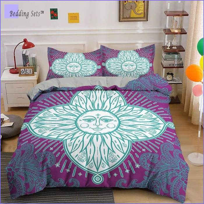 Hippie Bedding - Sun of Life