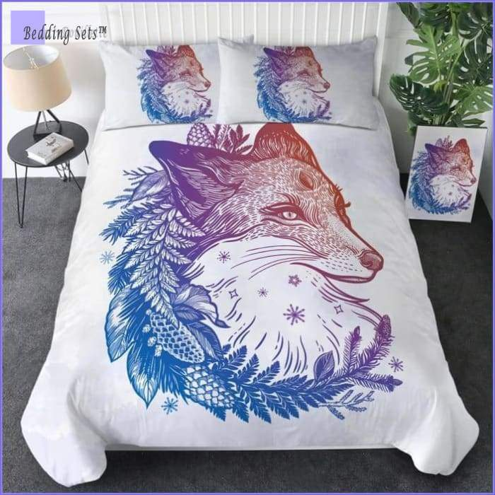Hippie Bedding - Wolf of Peace