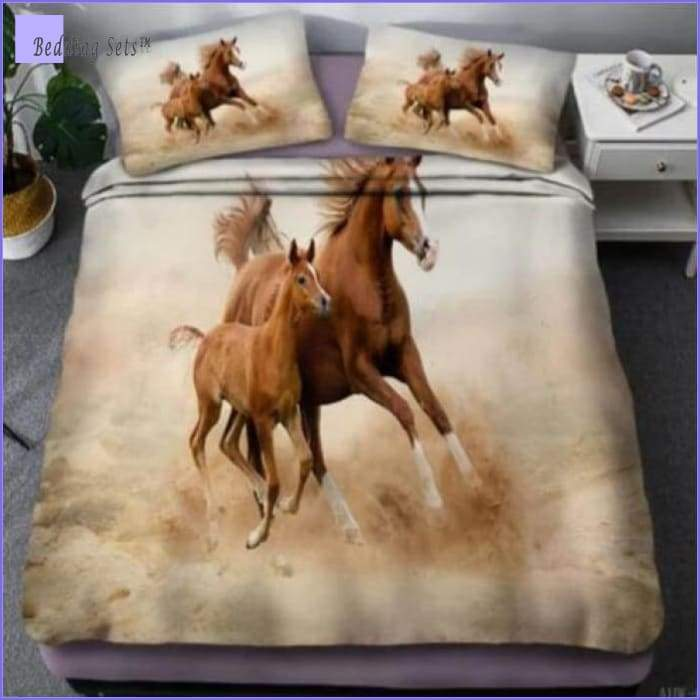 Horse Bedding Set - Mare & Foal - Bedding-Sets™