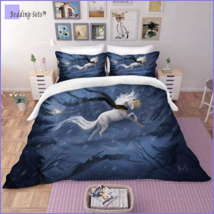Horse Bedding Set - Starry Sky - Bedding-Sets™