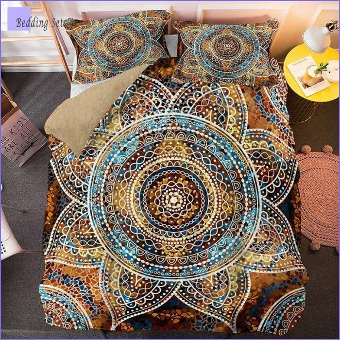 Indian Mandala Bedding - Sunshine