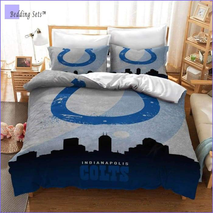 Indianapolis Colts Bedding Set