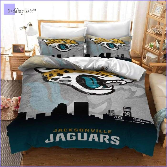 Jacksonville Jaguars Bedding Set