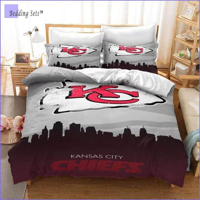 Kansas City Chiefs Bedding Set