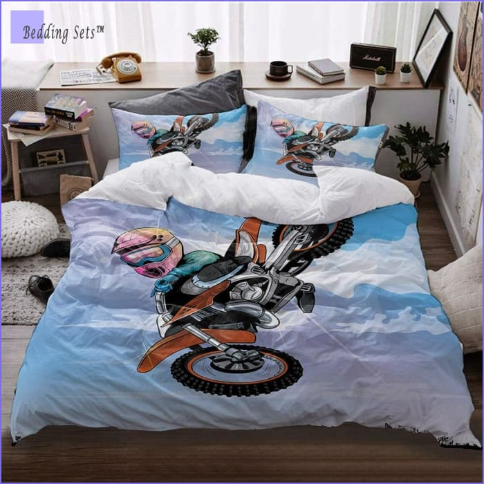 Kid Dirt Bike Bedding