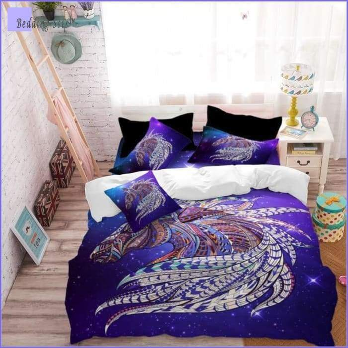 Kids Horse Bed Set - Bedding-Sets™