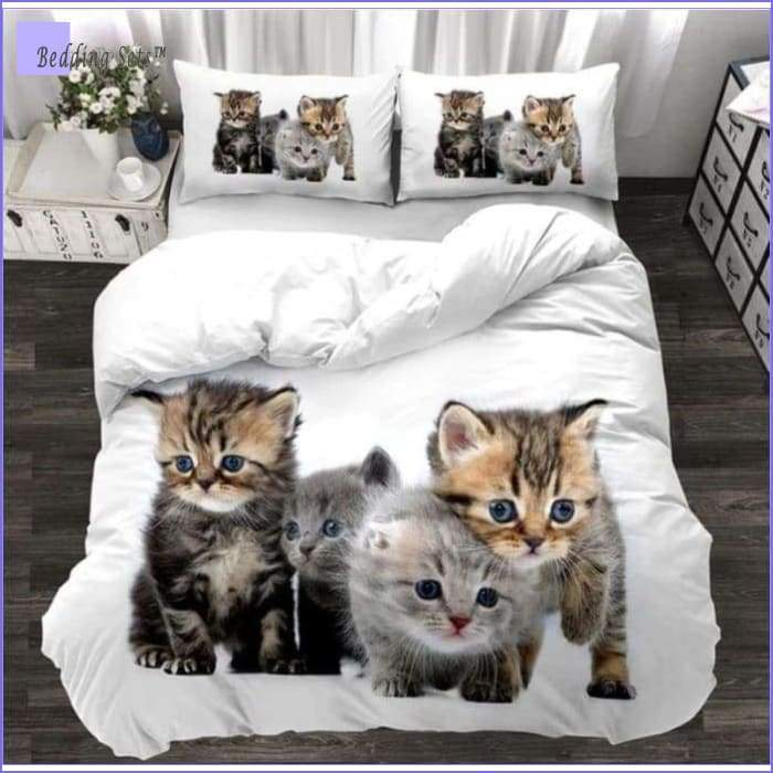 Kittens Bedding - Quartet
