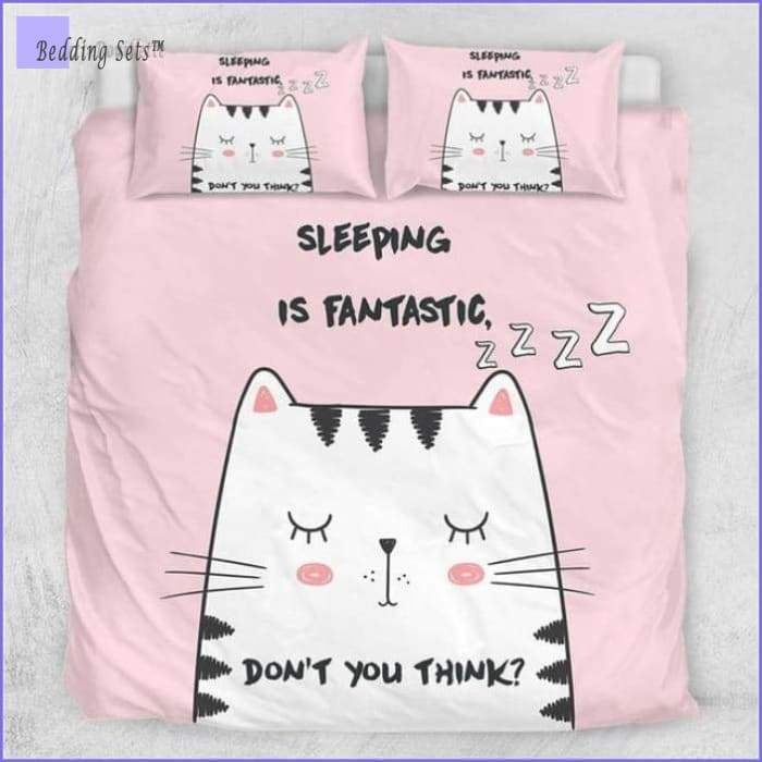Kitty Cat Bedding - Queen