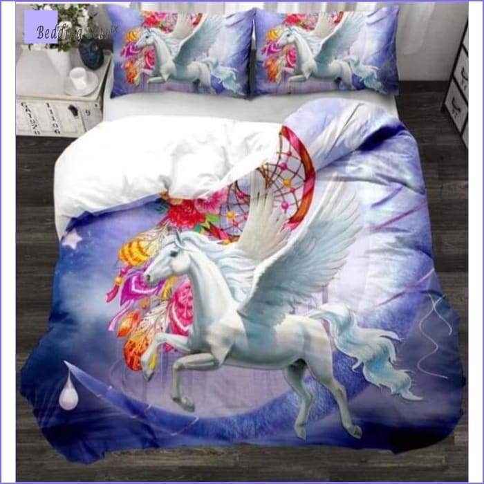 Little Girl Horse Bedding Set - Bedding-Sets™