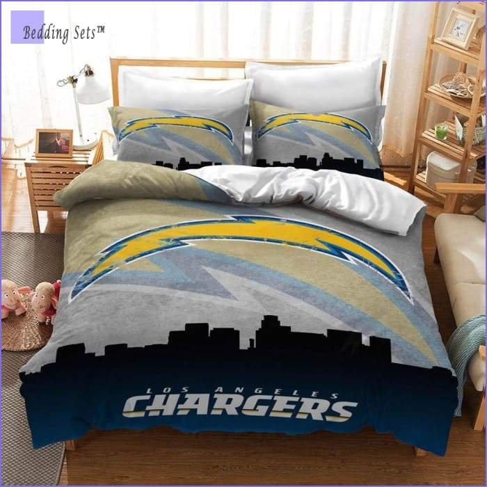Los Angeles Chargers Bedding Set