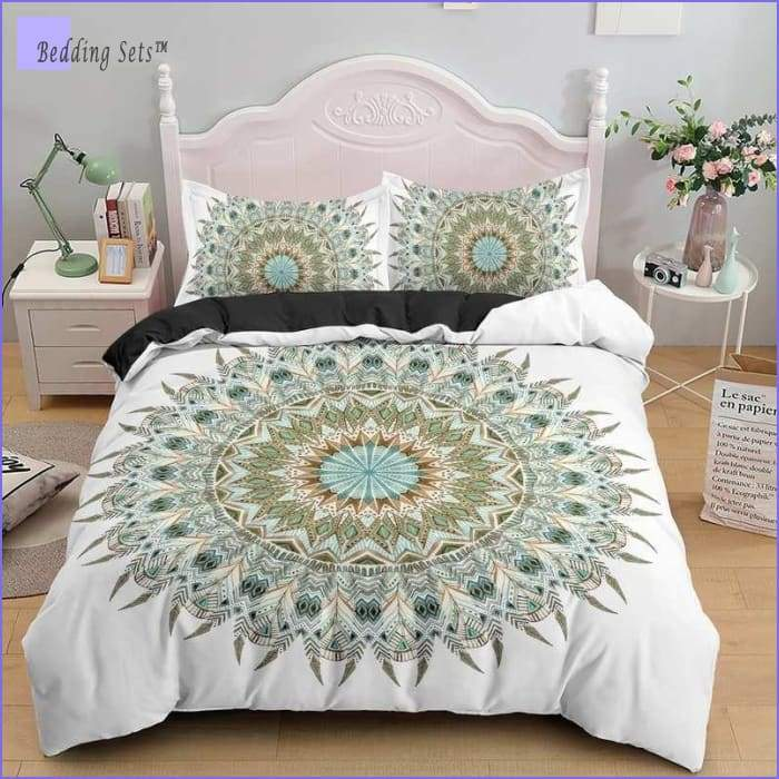 Mandala Bedding - Feathers