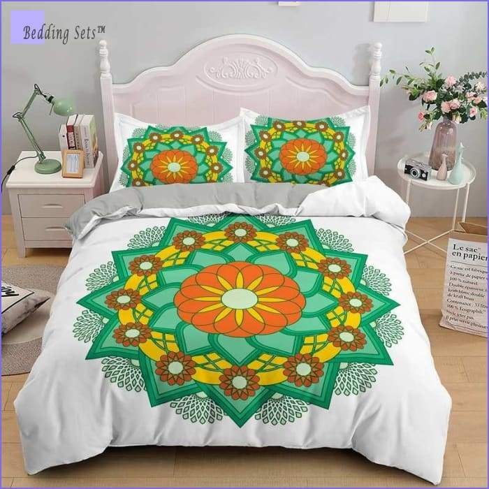 Mandala Bedding - Green Joy