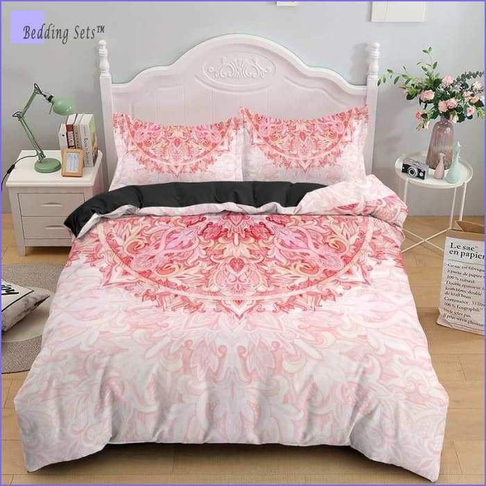 Mandala Bedding - Pink Love