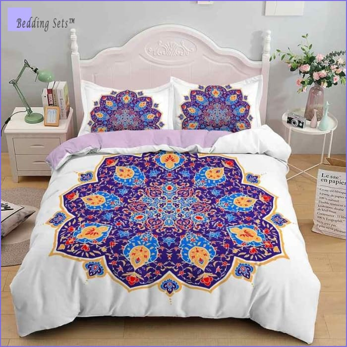 Mandala Twin Bed Set