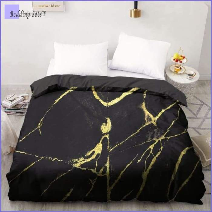 Marble king Bed Set