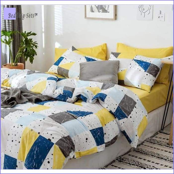 Modern Bedding Set - Colorful