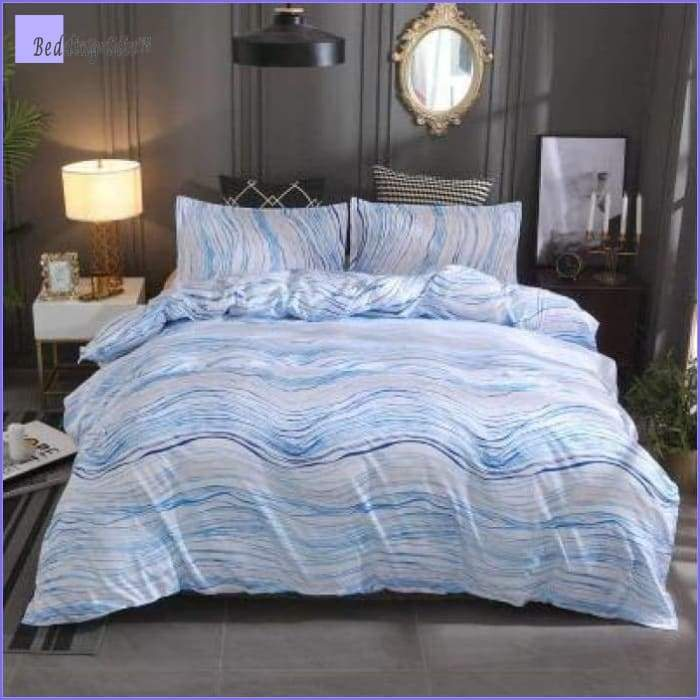 Modern Bedding Set - Waves