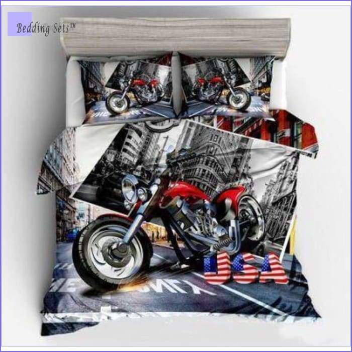 Motorbike Bedding Set